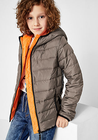 Functional quilted jacket from s.Oliver