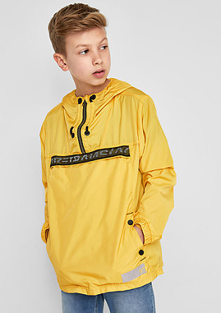 Windbreaker with a hood from s.Oliver