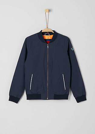 Bomber jacket with reflective details from s.Oliver