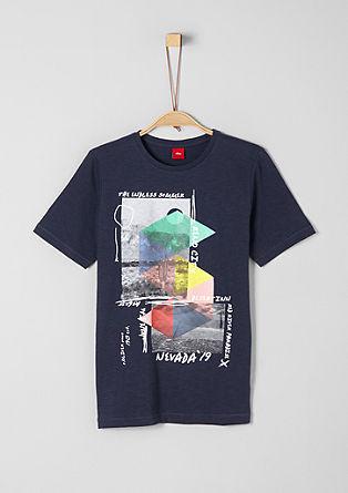 Flammgarnshirt mit Print