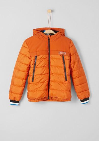 Puffer Jacket mit großen Zip-Taschen