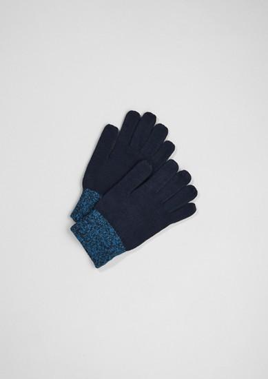 Handschuhe aus Strick