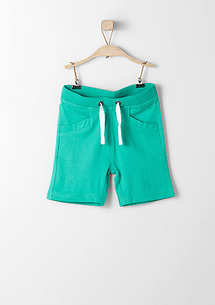Sweatshirt shorts with ties from s.Oliver