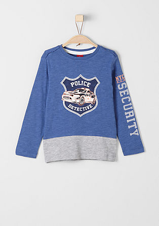 Long sleeve top in a police look from s.Oliver
