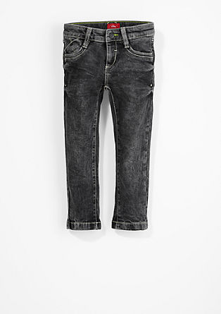Brad Slim: Jeans with pale stitching from s.Oliver