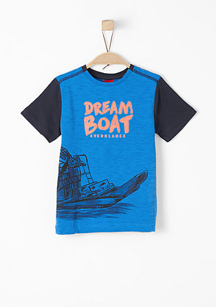 T-Shirt mit Selfmade-Print