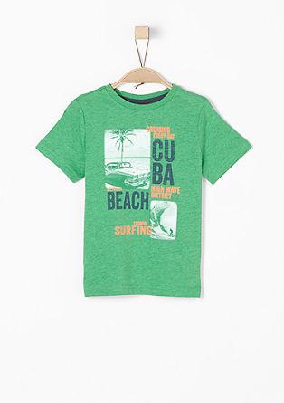Shirt mit Neon-Print