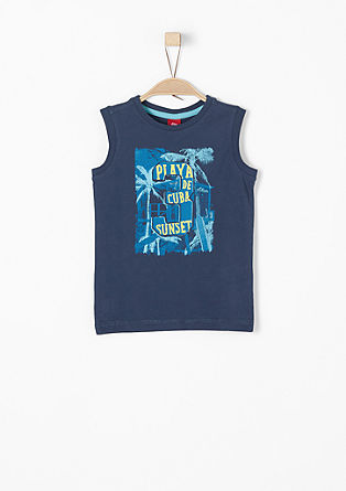 Tanktop mit Holiday-Print