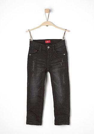 Brad: Used-Jeans mit Kontrasten