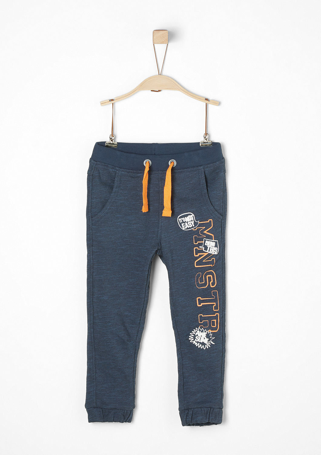 Jogging Pants mit Comic-Print