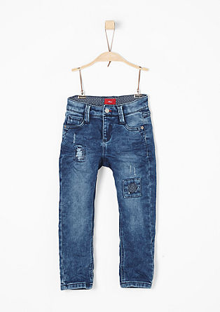 Pelle: distressed jeans from s.Oliver