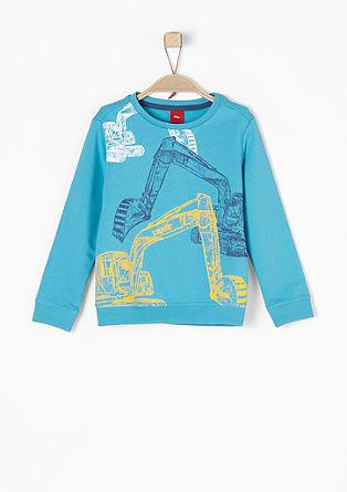 Sweatshirt mit Bagger-Print