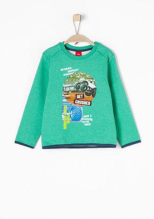 Sweatshirt mit Printcollage