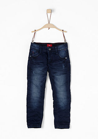 Pelle: Superstretch-Jeans im Used-Look