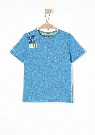 Shirt mit farbigem Schriftzug