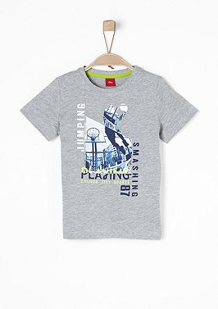Printshirt aus Baumwolle
