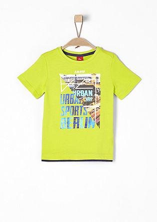 T-Shirt mit sportivem Print