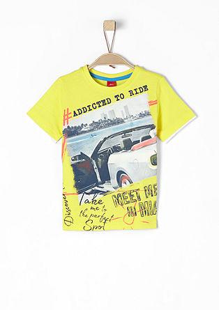 T-Shirt mit Print-Collage