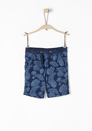 Bermuda-Shorts mit Allover-Print