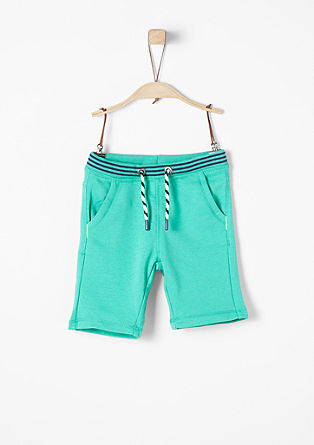 Comfortable Bermudas in sweatshirt fabric from s.Oliver
