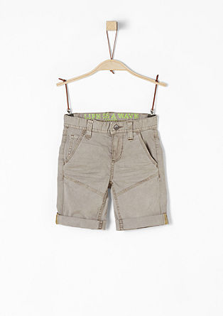 Pelle: casual twill shorts from s.Oliver