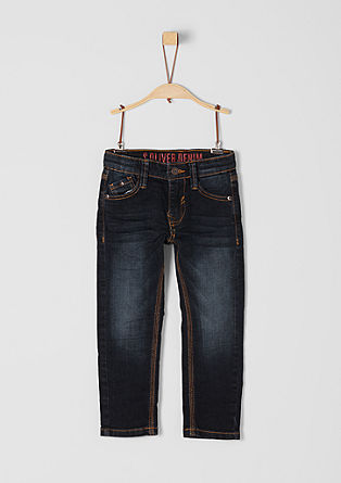 Pelle: dark denim jeans