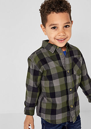 check flannel shirt from s.Oliver