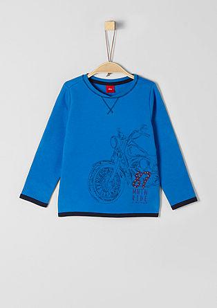 Sweatshirt mit rockigem Artwork