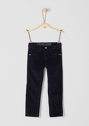 Brad: Lined corduroy trousers from s.Oliver