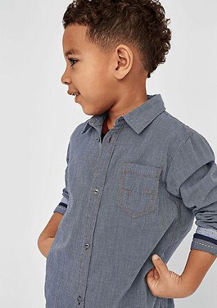 Fein gemustertes Hemd