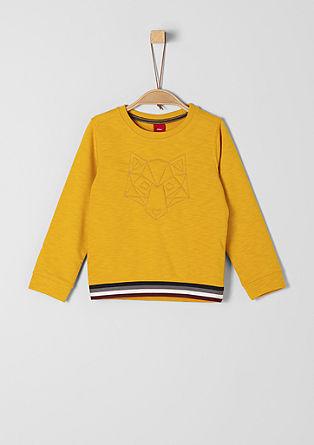Sweatshirt met borduursel