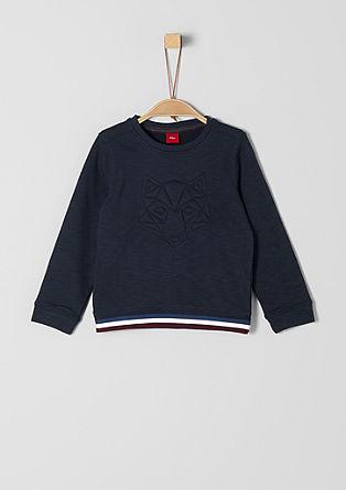 Sweatshirt mit Stitching