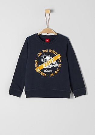 Sweatshirt met truck print