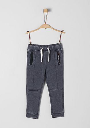 Washed tracksuit bottoms from s.Oliver