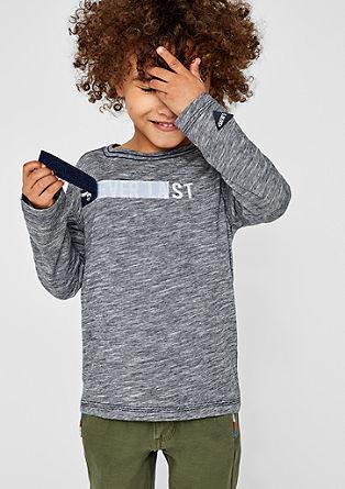 Majica dolg rokav z detajlom na ježka