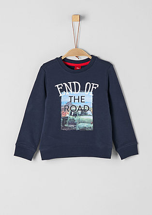 Sweatshirt with a road trip print from s.Oliver