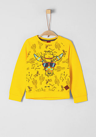 Sweatshirt with embroidery from s.Oliver