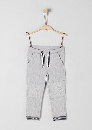 Športne hlače z vtisnjenimi zvezdami