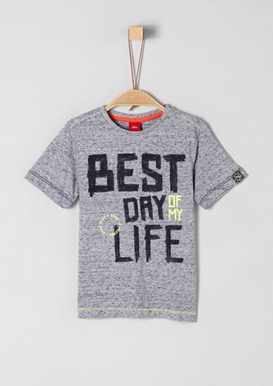 T-Shirt mit Statement-Schriftzug