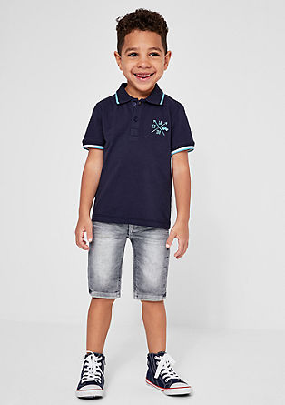 Brad: washed Bermuda shorts from s.Oliver