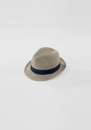 Lightweight hat with a hat band from s.Oliver