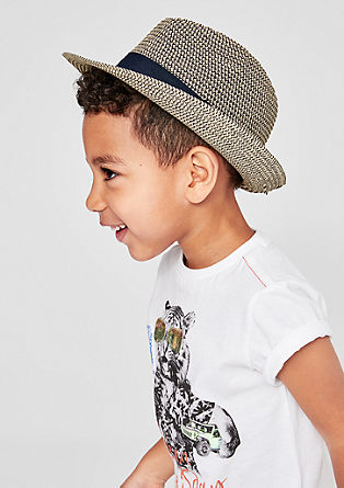 Lahek klobuk z okrasnim trakom