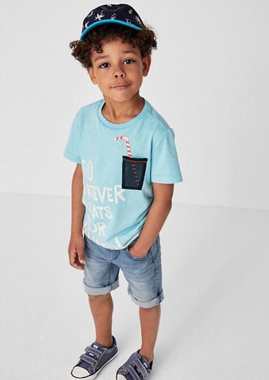 Brad: Jeans-Bermuda
