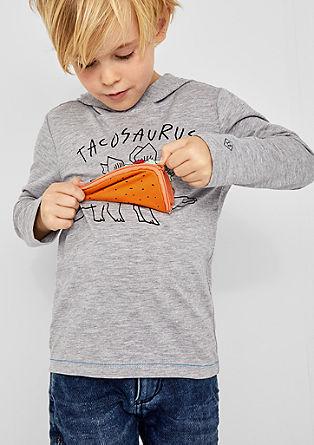 Kapuzenshirt mit Zipper-Tasche