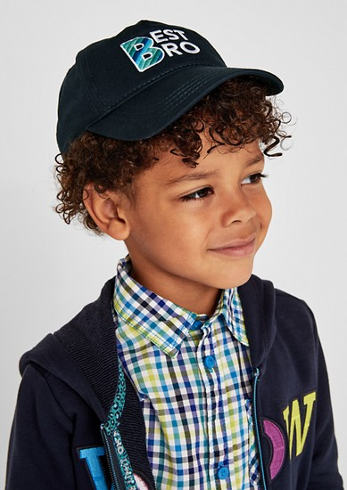 Baseball cap with embroidery from s.Oliver