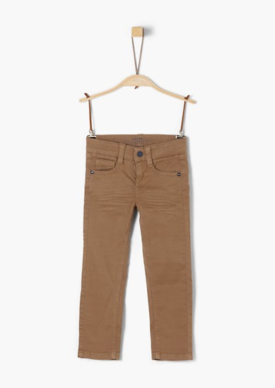 Brad: trousers with whiskering from s.Oliver