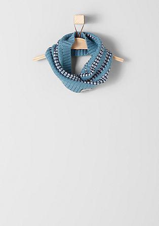 Gestrickter Loop-Schal