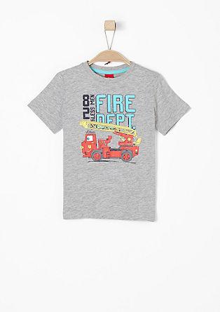 Shirt mit Feuerwehr-Motiv