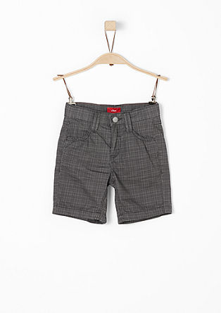 Pelle: patterned Bermudas from s.Oliver