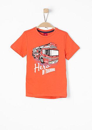 T-shirt met 3D-print